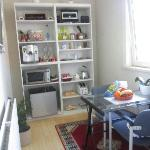 Kitchenette attached to bedroom