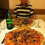 Huge pizza :-)