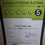 food hygene certificate