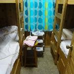 bunk beds - beds ARE made when checking in