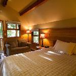 Inside a Queen Cabin