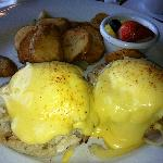 Chesapeake Eggs Benedict!  Yummy!