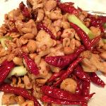 Chili Chicken with cashews
