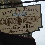 Foto de Don & Pauls Coffee Shop