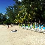 Sunny weather at Pereybère Beach Mauritius