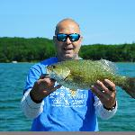 5lb Small mouth Platte Lake
