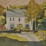 The Old Manse painted by local artist