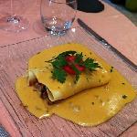 lasagne de foie gras poellee