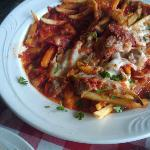Pizza Fries.....Can I just say Yummy for all dishes