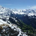 """""""Views of the Lauterbrunnen valley from top of Maennlichen"""""""