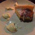 caramalized lemon tart