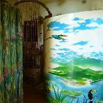 Entrance to bedroom & shower