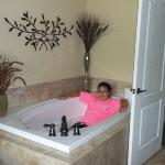Tub in Master Suite
