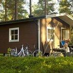 Hotellstuga på Granö Beckasin Lodge