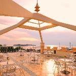 Roof Top, great place to enjoy sunset