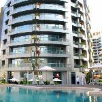 Photo de Lotus Hotel Apartments & Spa, Dubai Marina