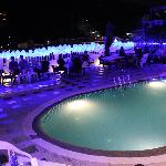roof top pool / bar