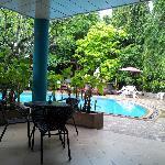 'Outside Pool Area