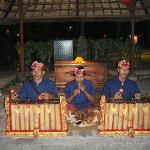 Part of the traditonal Gamelan orchestra