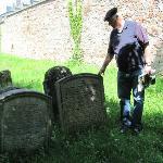 Jüdische Friedhof Foto