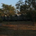 Rangés de tentes