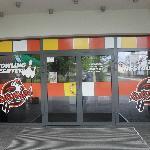 ingresso dell'hotel