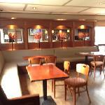 the bar area, very nice