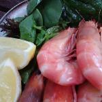 The most amazing prawns ever! Succulent, meaty, and delicious.