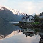 Fjaerland fjord view