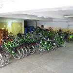 'Fahrrad'-Garage