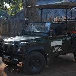 The LandRover for safaris