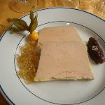 entrée de foie gras exellent et copieux
