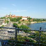 Vista dalla Terrazza sul Wawel