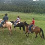 Trail ride...