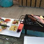 grilling and chilling