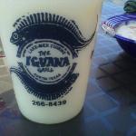 Iguana Grill Pina Colada cup