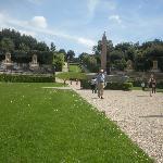 Entrance to Boboli Gardens