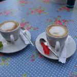 Unsere Kaffes mit lecken Gummibärchen