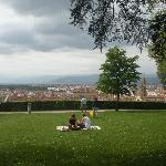 View from Boboli Gardens over Florence