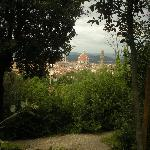 View from Boboli Gardens of Duomo