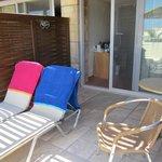 Room 753 private balcony