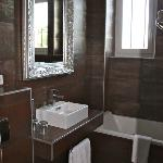 det flotte badeværelse