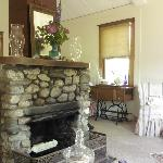 Fireplace and room
