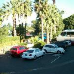 Hotel Parking Area