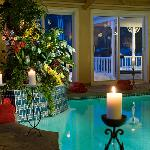 Candlelit Tropical Indoor Spa