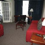 Suite area with sofa bed