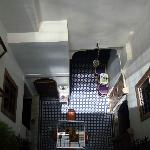 Inside the Riad