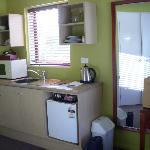 Well appointed kitchenette