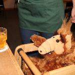 ALF gets free whiskey at Minnie's