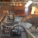 A model of the pump station